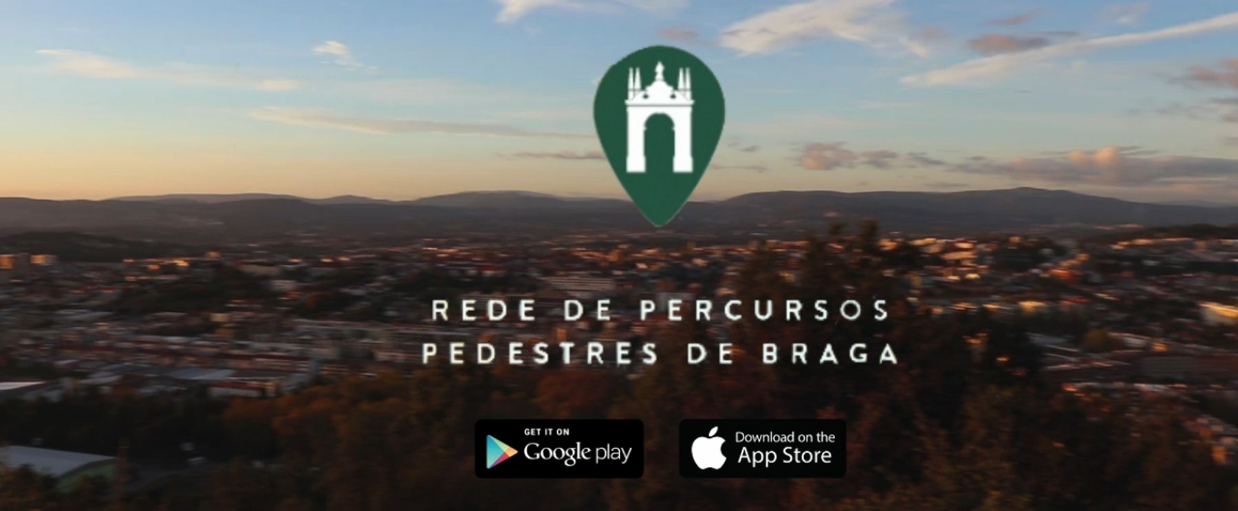 App: Rede de Percursos Pedestres de Braga