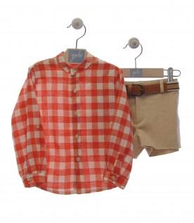 Conjunto Camisa e Calção