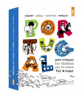 Portugal - livro para crianças - Colorir