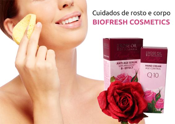 Biofresh Cosmetics - Cuidados de rosto e corpo