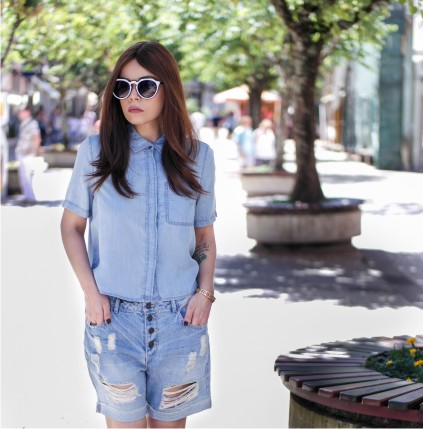 All denim