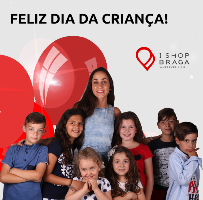 Dia Mundial da Criança com IShop Braga